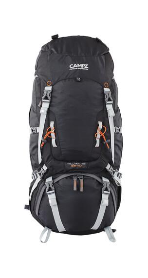 CAMPZ Mountain Pro Rucksack 55+10L schwarz